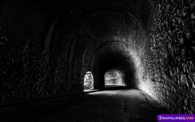Túnel del Embalse del Amadorio #Villajoyosa