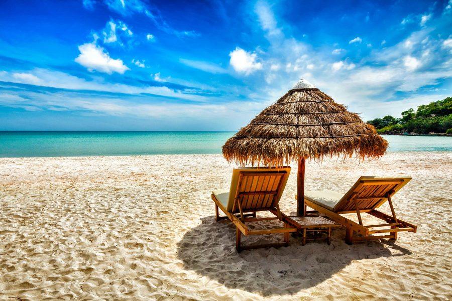 Beach vacation