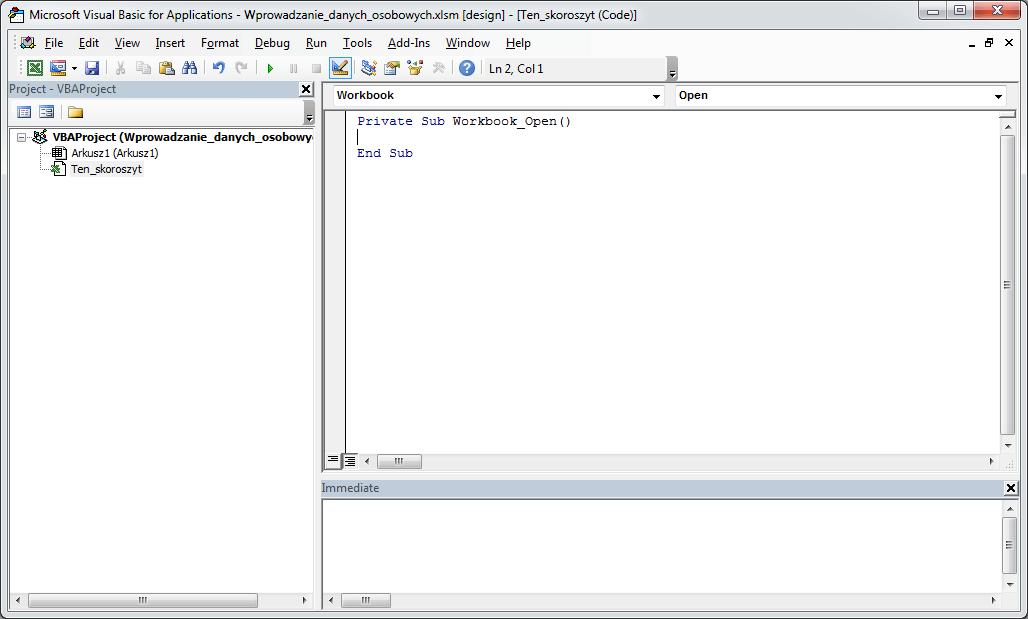 Excel VBA Course - ComboBox Combo