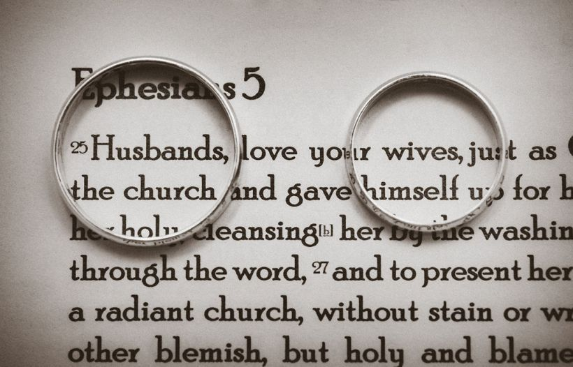 Ephesians 5 wedding rings