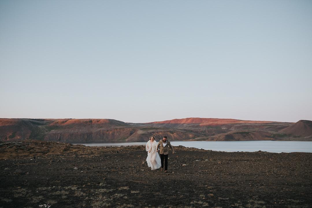 Ślub na Islandii
