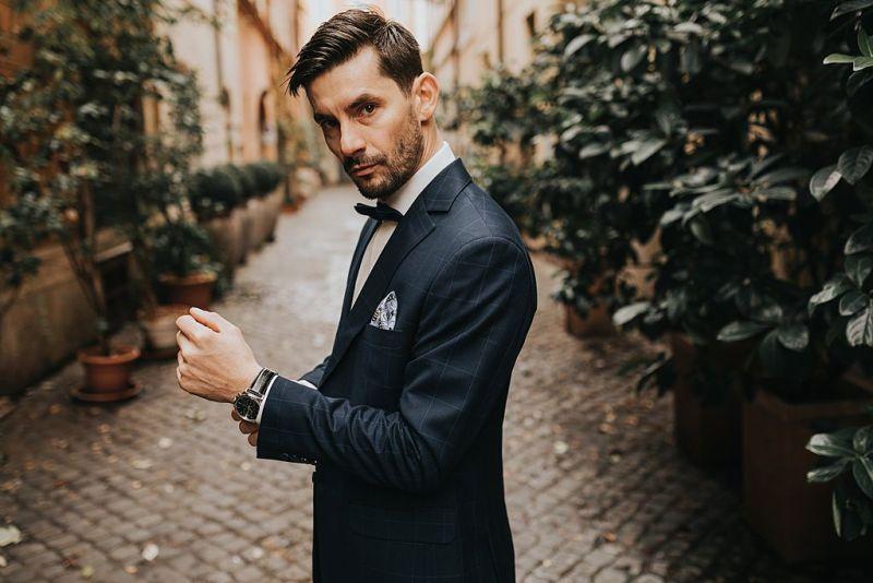 sesja ślubna fotografia ślubna poznań twardowski rome italia włochy ciasna rzymska uliczka