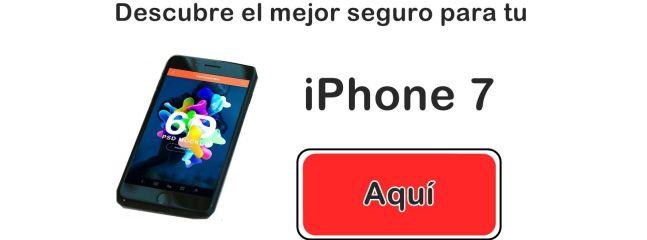 El mejor seguro para iPhone 7