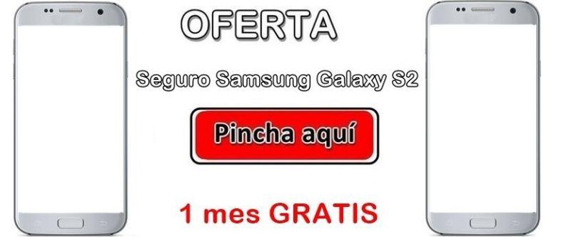 Oferta asegurar Samsung Galaxy S2