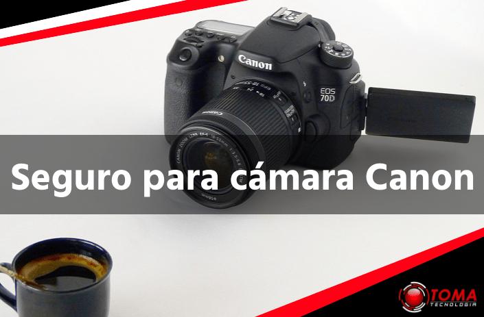 Seguro para cámara Canon