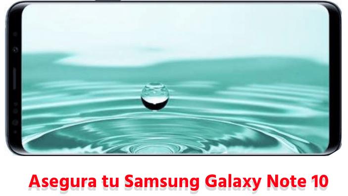Asegurar Samsung Galaxy Note 10 barato