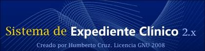 Sistema de Expediente clínico v 2.x para internos del IMSS