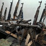 MEND weapons turned over in Nigeria