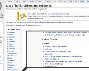 Coulibaly wikipedia vandalism