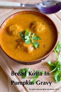 Bread Koftas In Red Pumpkin Gravy