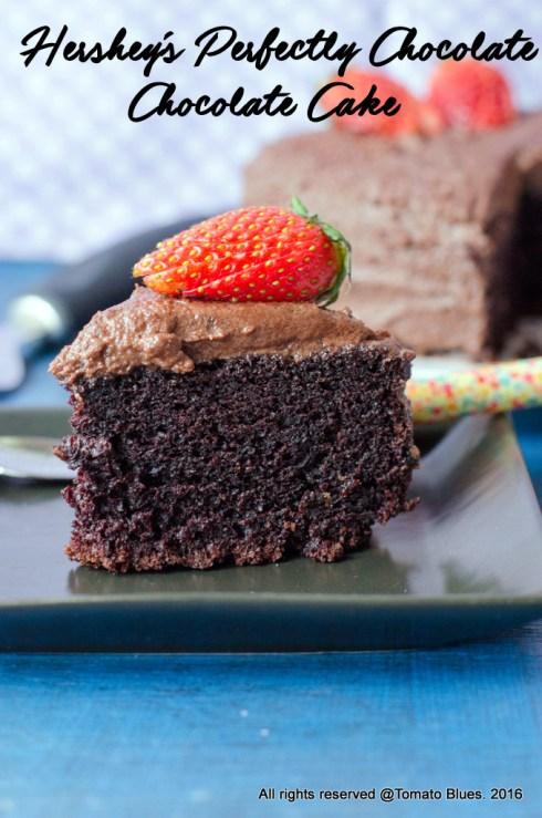 hershey's perfectly chocolate chocolate cake