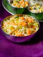 carrot beans poriyal