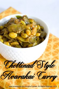 Chettinad Avarakkai Poriyal Recipe