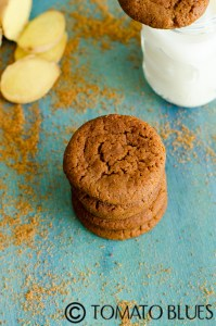 Eggless Gingersnaps Cookies Recipe For Christmas