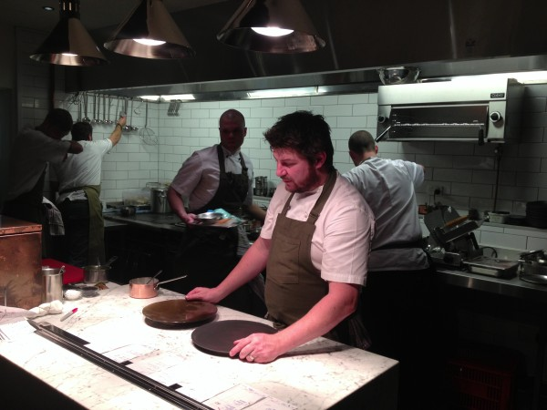 Scott Pickett at the pass at St Crispins Smith St