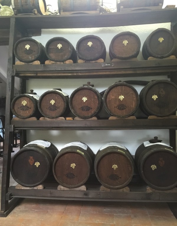 Real balsamic vinegar barrells
