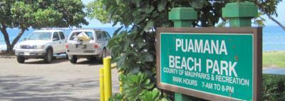 Puamana Beach Park