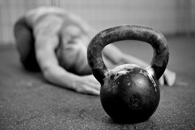 Kettlebell_Workout b&w