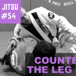 2 Minute Jiu Jitsu Ep 54: Countering Leg Grab Against The Top Spin