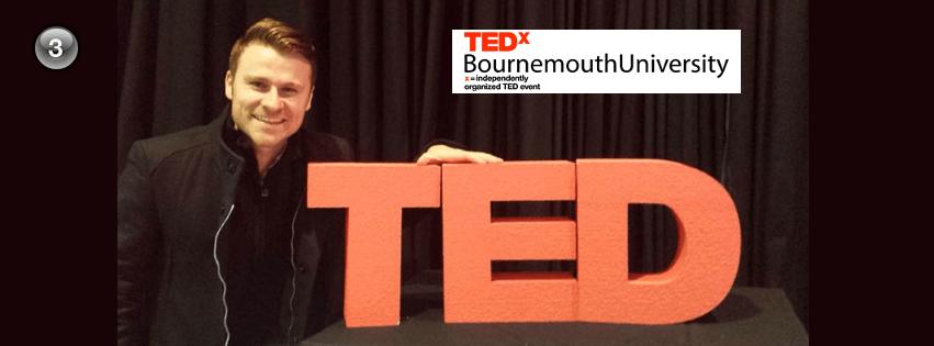 TEDx Bournemouth – Part 3:  – Unlocking Your Creative Mind