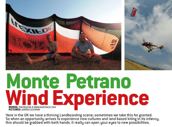 monte petrano wind experience