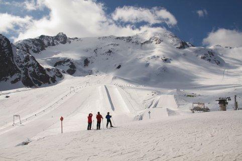 The slopes at Kaunertal