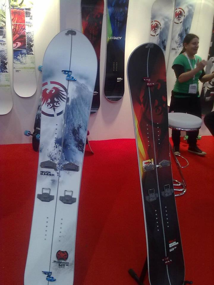 Never Summer at ISPO