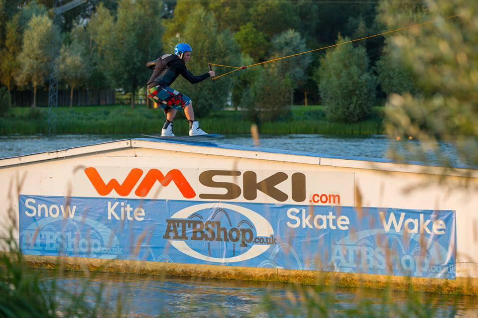 Wakeboarding at WMSki