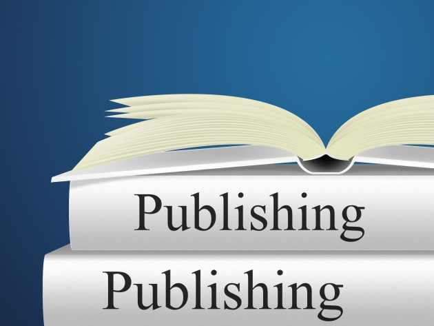 Books Publishing Shows Textbook E-Publishing And Publisher