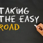 taking the easy road