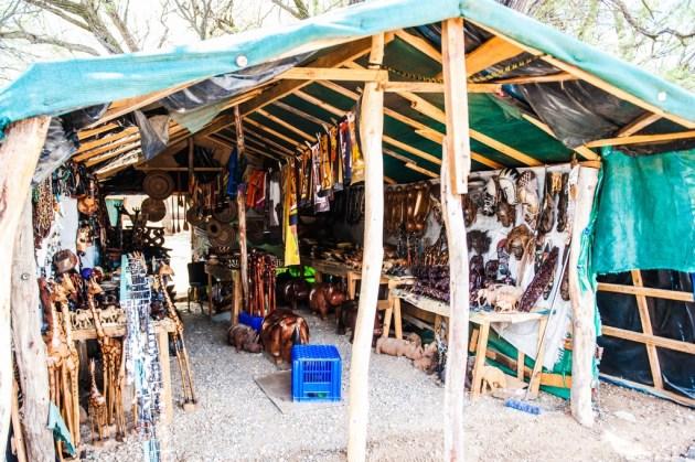 Mercato di Okahandjia, Namibia, Africa