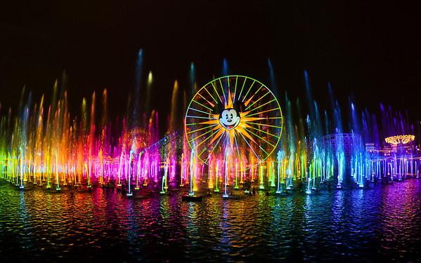 Disneyland ResortDisney California AdventureWorld of ColorOne of Steve Davison's masterpieces, World of Color is a really amazing show. Read more: https://www.disneytouristblog.com/tag/world-of-color/