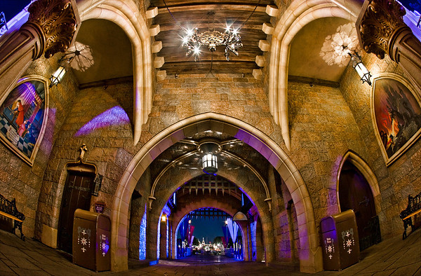 Inside Sleeping Beauty Castle at Disneyland. 101 Disneyland Tips: https://www.disneytouristblog.com/101-best-disneyland-tips/