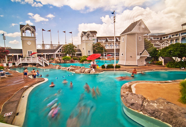 Stormalong Bay is basically a small water park, and we think it's the best hotel pool at Walt Disney World. Which hotel pool is your favorite?