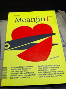 Meanjin March 2012 issue