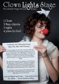 'Clown Light Stage' Poster, 2011