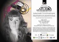 'Machine Atlas' Invite, 2011 (Created in collaboration with Shopfront design staff)