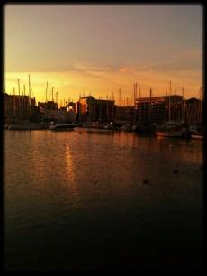 Barbican Sunset.