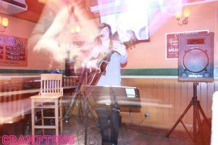 Playing at Cramptons, Broadstairs.