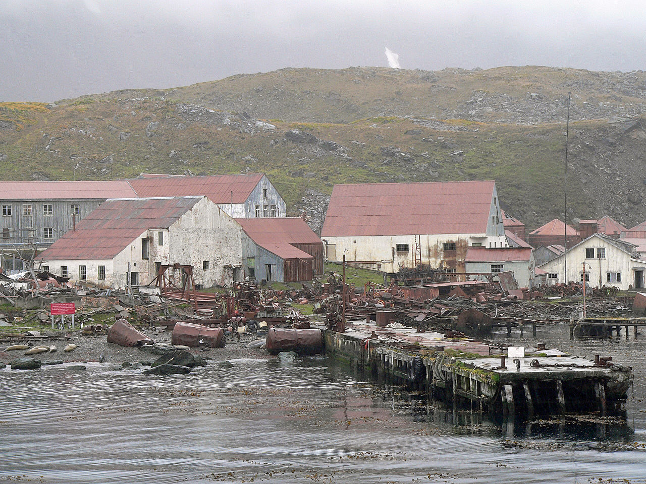 Stromness Whaling Station - Endurance Expedition