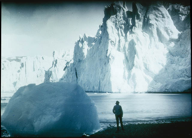 Face of the Neumeyer Glacier, 1915 / by Frank Hurley