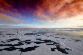 Antarctica - Sky & Ice