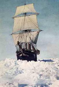 The Endurance In Full Sail
