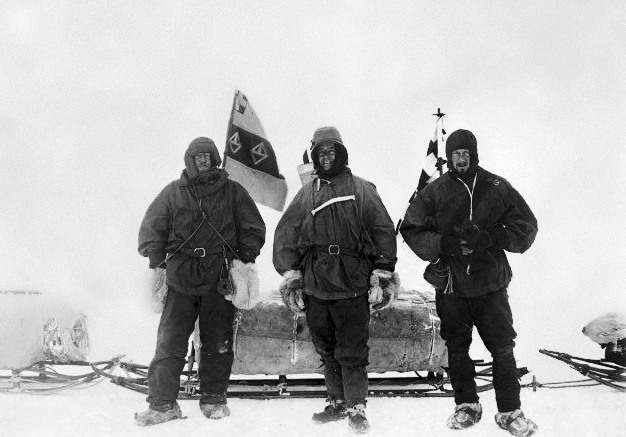 Shackleton, Scott and Wilson