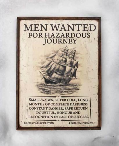 Shackleton Ad