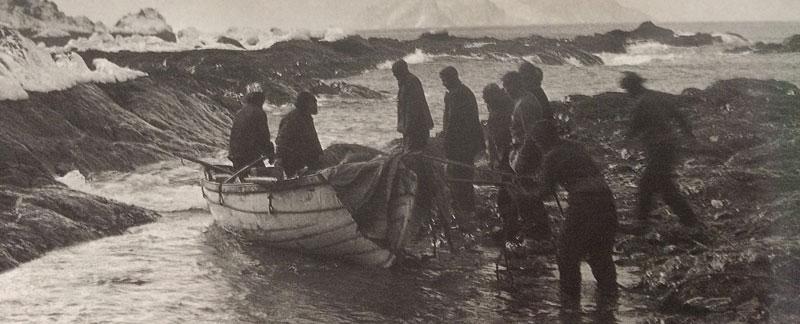 Shackleton's Lifeboats arrive at Elephant Island