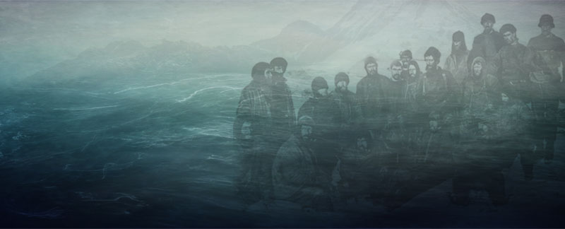 Third Rescue attempt by Ernest Shackleton - Elephant Island