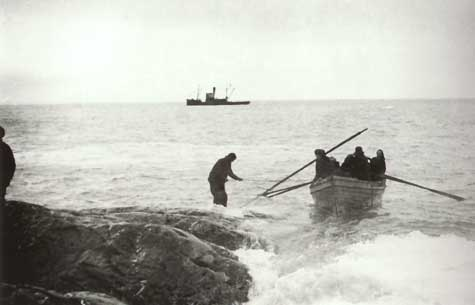 Rescue from Elephant Island