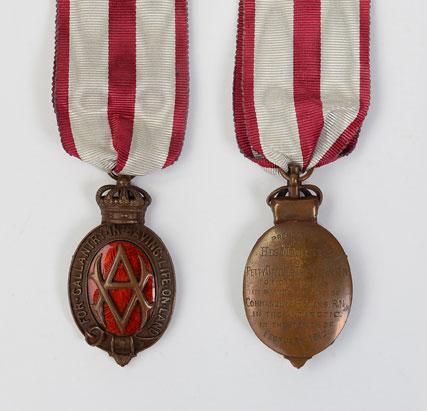 Tom Crean's Albert Medal.