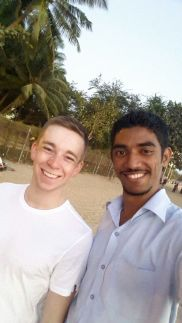 Mosin is the one who took me round Mumbai. Thank you so much if you're reading this!
